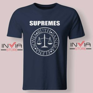 The Supremes Sandra Ruth Sonia Elena Navy Tshirt