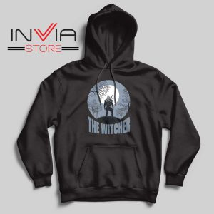The Witcher Dark Moon Black Hoodie