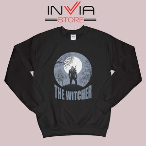 The Witcher Dark Moon Black Sweatshirt
