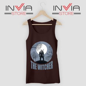 The Witcher Dark Moon Black Tank Top