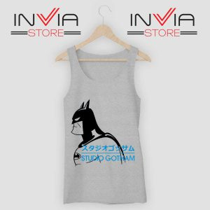Batman Studio Gotham Grey Tank Top