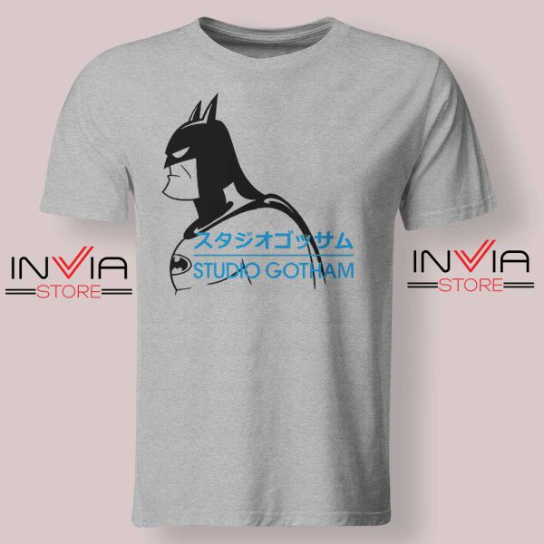 Batman Studio Gotham Grey Tshirt