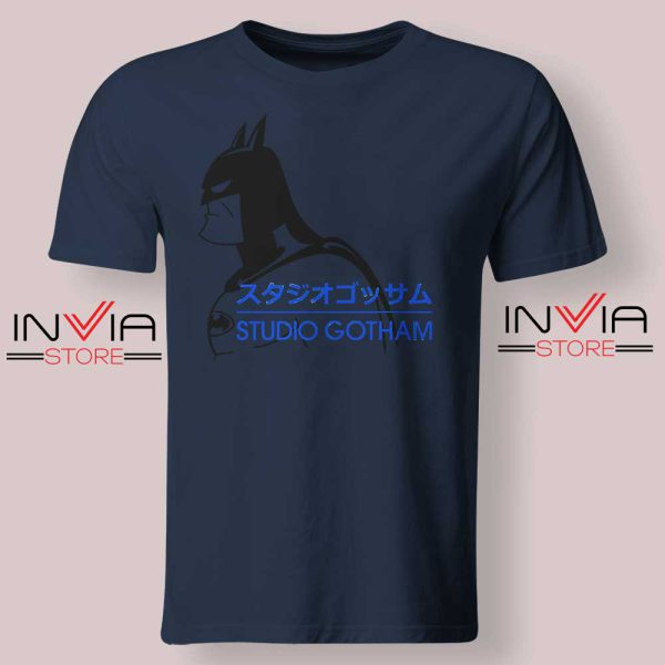 Batman Studio Gotham Navy Tshirt