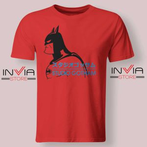 Batman Studio Gotham Red Tshirt