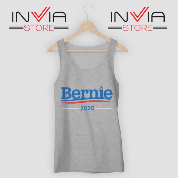 Best Bernie Sanders 2020 Campaign Grey Tank Top