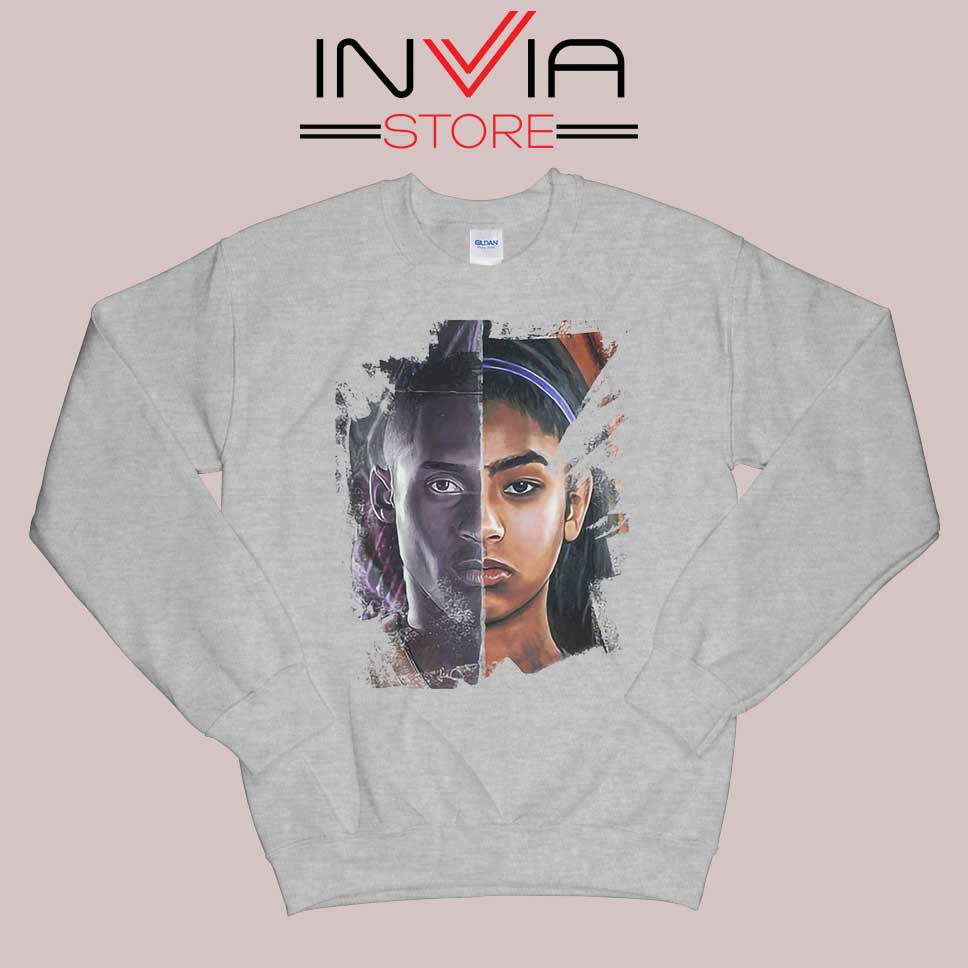 Celebration of Kobe and Gigi Grey Sweatshirt