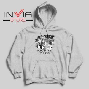 Kobe Legend NBA Star Grey Hoodie