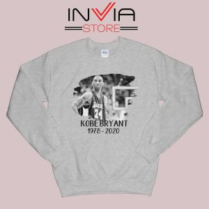 Kobe Legend NBA Star Grey Sweatshirt