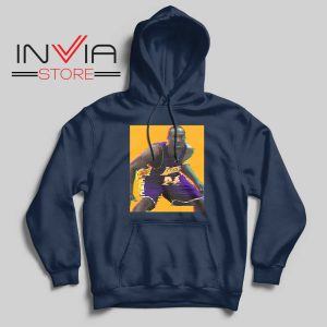 La Lakers The Mamba Defense Navy Hoodie