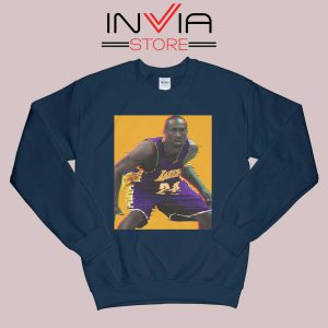 La Lakers The Mamba Defense Navy Sweatshirt
