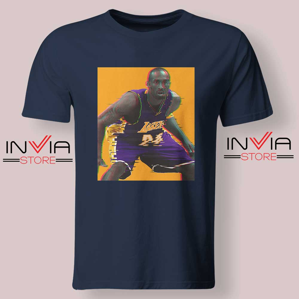 La Lakers The Mamba Defense Navy Tshirt