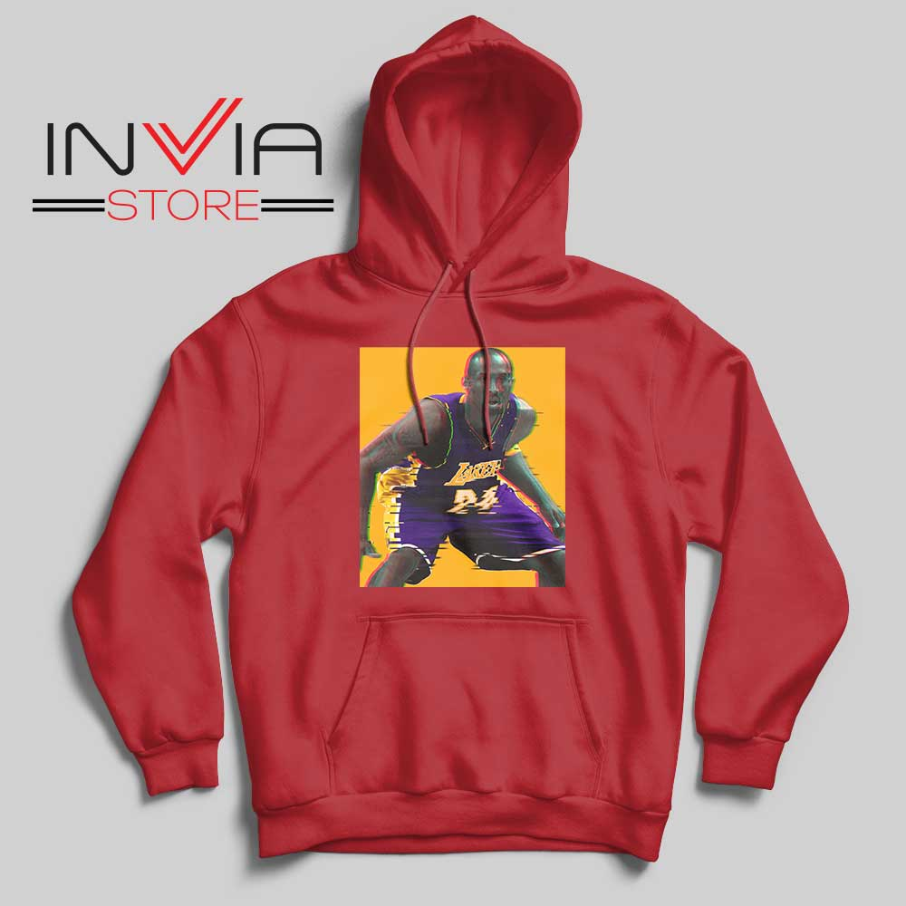 La Lakers The Mamba Defense Red Hoodie