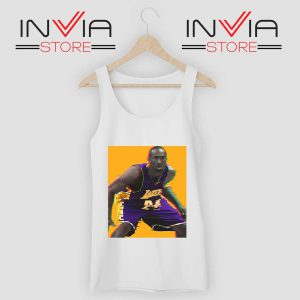 La Lakers The Mamba Defense White Tank Top