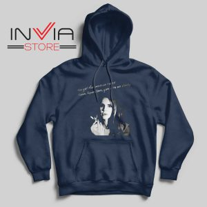 Lana Del Rey Gods and Monsters Navy Hoodie