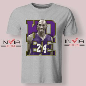Memorial Black Mamba 24 Grey Tshirt
