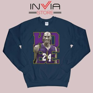 Memorial Black Mamba 24 Navy Sweatshirt
