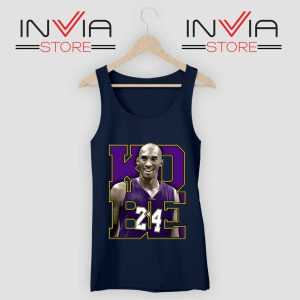Memorial Black Mamba 24 Navy Tank Top