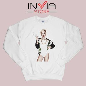 Miley Cyrus Sexy Pose Sweatshirt