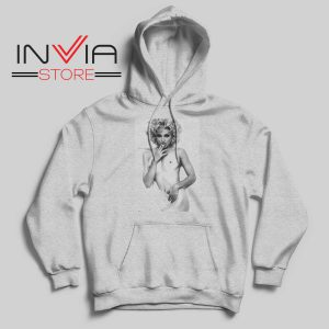 Naked Madonna Queen Music Pop Grey Hoodie