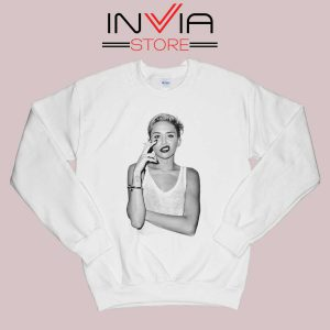 Smoke Sexy Miley Cyrus Sweatshirt