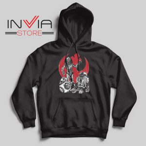 Star Wars The Rise of Droids Black Hoodie