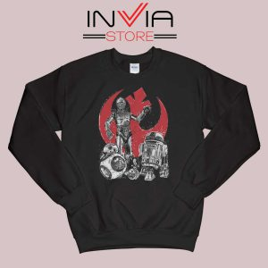 Star Wars The Rise of Droids Black Sweatshirt