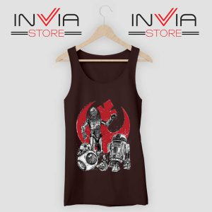 Star Wars The Rise of Droids Black Tank Top