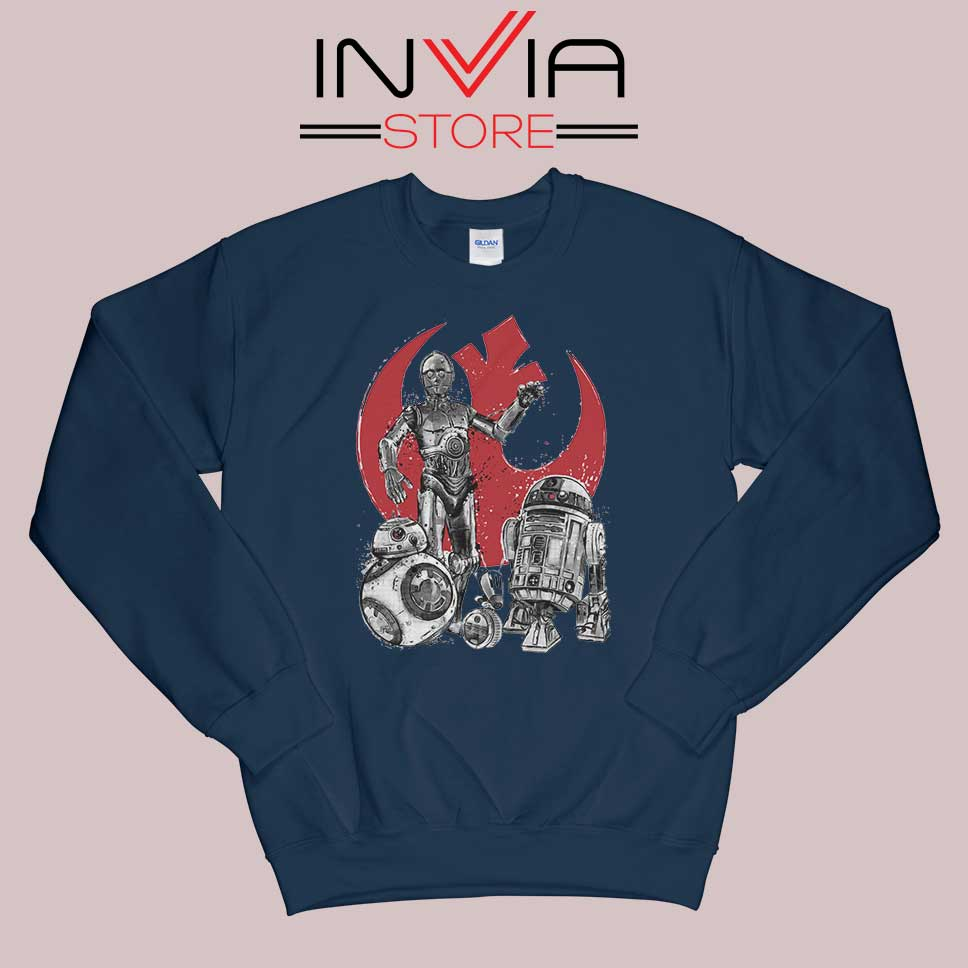 Star Wars The Rise of Droids Navy Sweatshirt