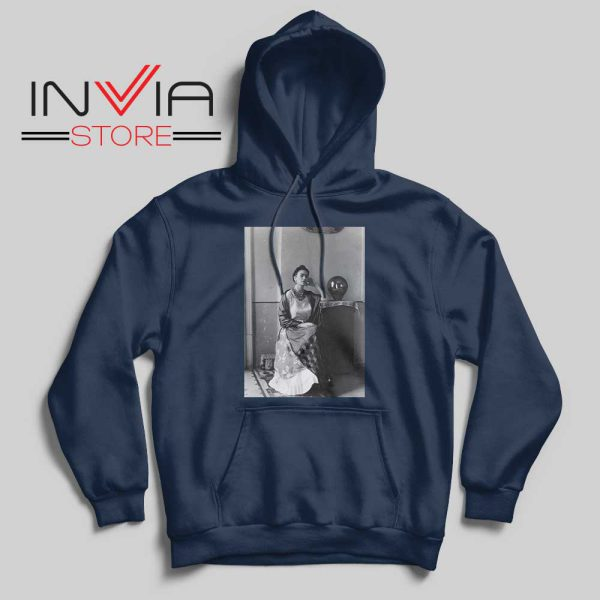 i Love you More than my own skin Navy Hoodie