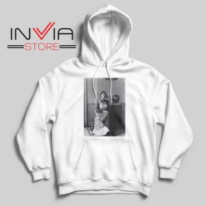 i Love you More than my own skin White Hoodie